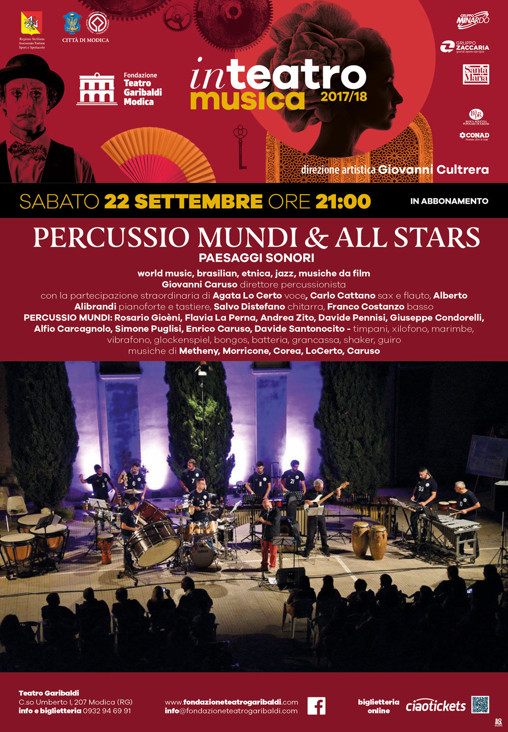 6x8 percussio mundi e all stars